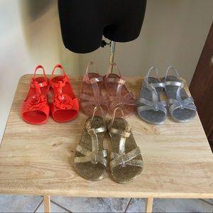 Old Navy Jelly Sandals Bundle